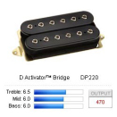 DiMarzio DP220 - D Activator Bridge