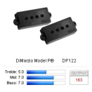 DiMarzio Bass - DP122 - Model P