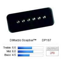 DiMarzio DP167BKD