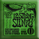 Ernie Ball - 12-str�ngad Slinky Electric Nickel Wound 008 - 040