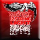Ernie Ball - 12-str�ngad Slinky Electric Nickel Wound 009 - 046
