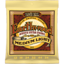 Ernie Ball - Earthwood 80/20 Brons Medium Light 012-054