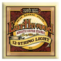 Ernie Ball - 12-strängad Earthwood 80/20 Brons Light 009-046 EB-2010