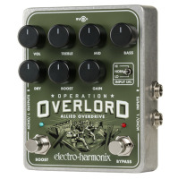 Electro Harmonix Operation Overlord Stereo Overdrive