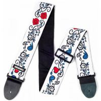 Dunlop Jimi Hendrix Strap Collection JH02 Monterey axelband