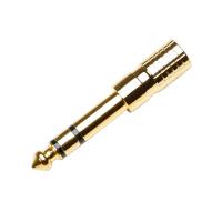 Adam Hall 7543G Adapter TRS 3,5mm - 6,3mm