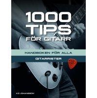1000 Tips för gitarr