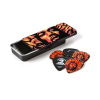 Dunlop Plektrum Jimi Hendrix Voodoo Fire Pick Tin JHPT14H