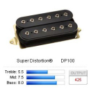 DiMarzio DP100 - Super Distortion Black